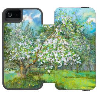 Blossoming garden incipio watson™ iPhone 5 wallet case