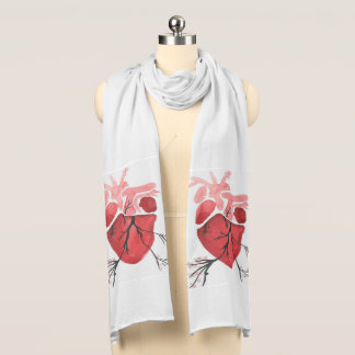 Blossoming Heart Scarf