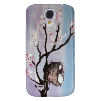 Blossoming Nest iPhone case