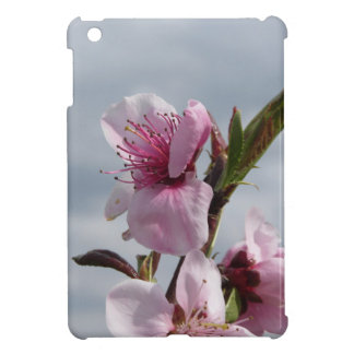 Blossoming peach tree against the cloudy sky case for the iPad mini