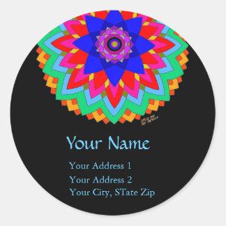 """Blossoming Soul"" Address Labels"