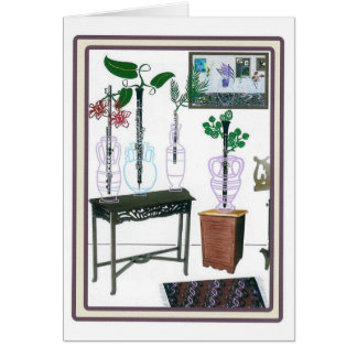 Blossoming Woodwinds Card