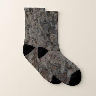 Blossoms and Bark Socks