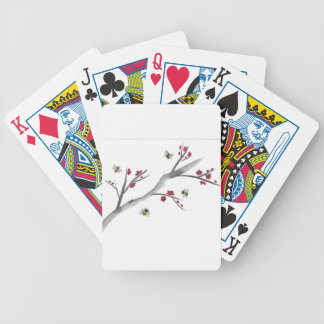 Blossoms and Bees Bicycle Playing Cards
