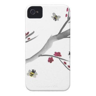 Blossoms and Bees iPhone 4 Case-Mate Cases