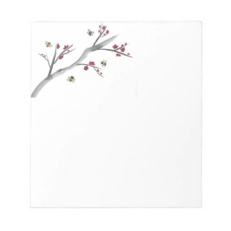 Blossoms and Bees Notepads