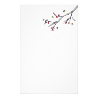 Blossoms and Bees Stationery