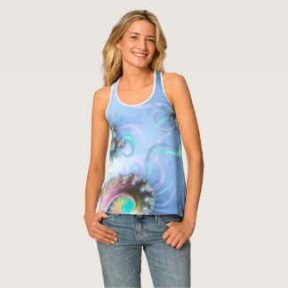 Blossoms and Breeze Tank Top