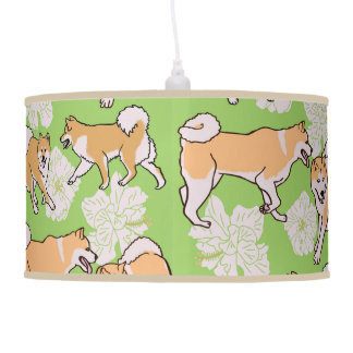 Blossoms and Breezes all aglow Pendant Lamp