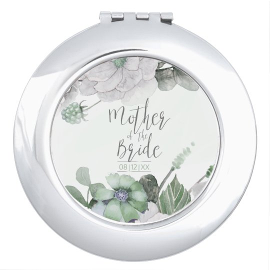 Blossoms & Berries Mother of the Bride ID476 C Travel Mirrors