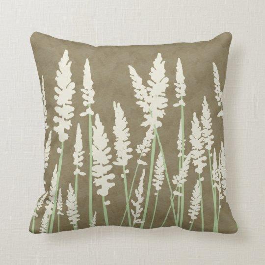 Blossoms Decor#11c Modern Nature Throw Pillows