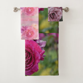 Blossoms Floral Shower Bath Home Destiny'S Destiny Bath Towel Set