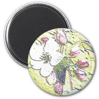 Blossoms Refrigerator Magnet