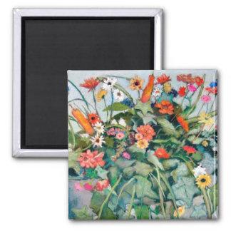 Blossoms Of Joy Square Magnet