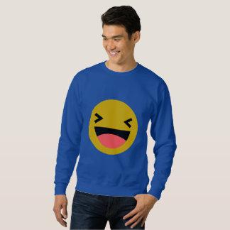 Bloughing / Men's Basic Sweatshirt, White Sweatshirt