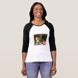 Blouse with Painting There is beauty in simplicity T-Shirt