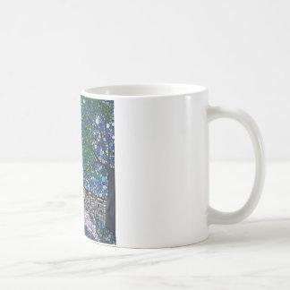 Blow a kiss to the moon coffee mug