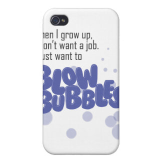 Blow Bubbles iPhone 4 Cover