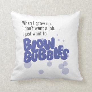 Blow Bubbles Pillows