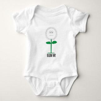 Blow me dandelion baby bodysuit