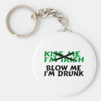 Blow Me Im Drunk Basic Round Button Keychain