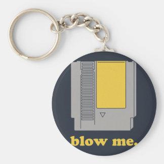 Blow me keychain