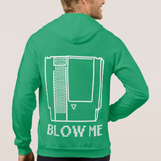 Blow Me - Video Game Cartridge Sweatshirt