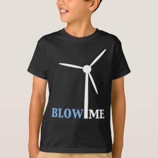 blow me wind turbine tshirts