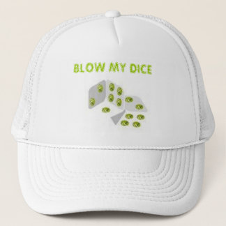 BLOW MY DICE TRUCKER HAT