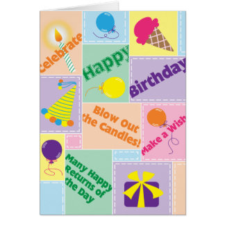 Blow Out the Candles! - Birthday Card