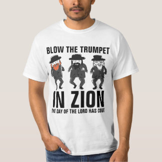 BLOW THE TRUMPET IN ZION, Messianic t-shirts