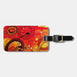 Blowing Bubbles in the Sunset Luggage Tag