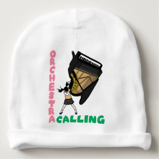 Blowing easy crash _piano baby beanie