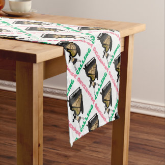 Blowing easy crash _piano short table runner