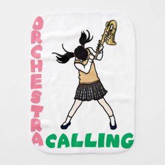 Blowing easy crash _saxophone burp cloth