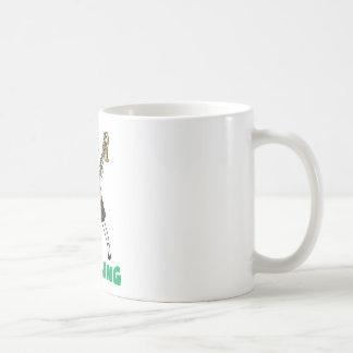 Blowing easy crash _saxophone coffee mug