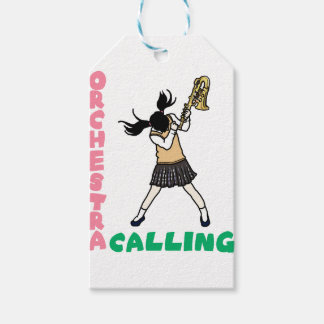 Blowing easy crash _saxophone gift tags