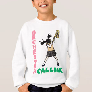 Blowing easy crash _saxophone sweatshirt