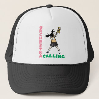 Blowing easy crash _saxophone trucker hat