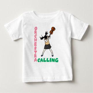 Blowing easy crash _violin baby T-Shirt