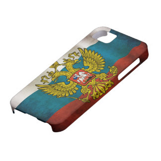 Blowing flag of Russia iPhone 5 Covers