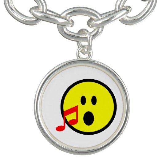 Blowing Kisses Emoji Charm Bracelet