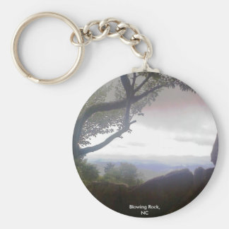 Blowing Rock, NC Keychain