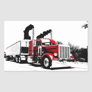 Blowing Through Peterbilt v2 Stickers