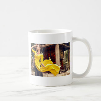 Blowing wind coffee mug