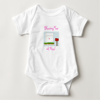 Blowing You, A Kiss!-Baby-Creeper Baby Bodysuit