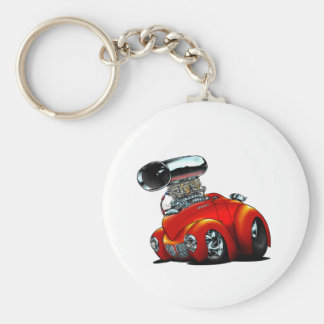 Blown Willys Keychain