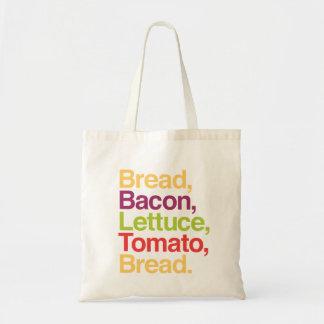 BLT Bread, Bacon, Lettuce, Tomato, Bread Bag