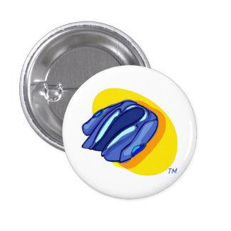 Blu Jacket's Blue Jacket 1 Inch Round Button