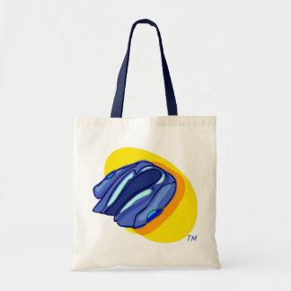 Blu Jacket's Blue Jacket Budget Tote Bag